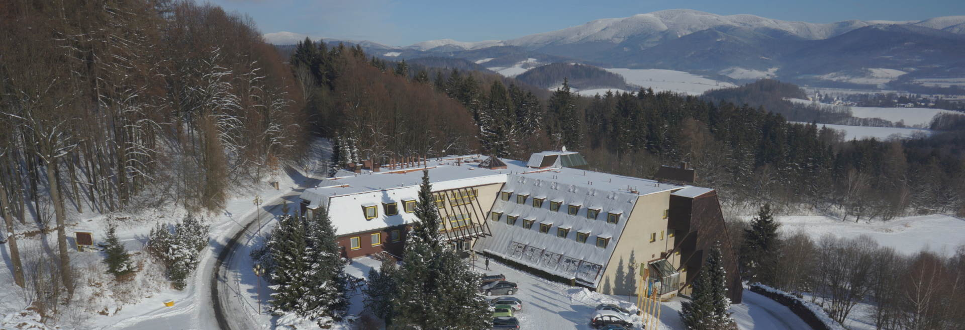 Wellness hotel DIANA in Jeseniky mountains